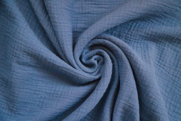 Denim Blue Cotton Fabric