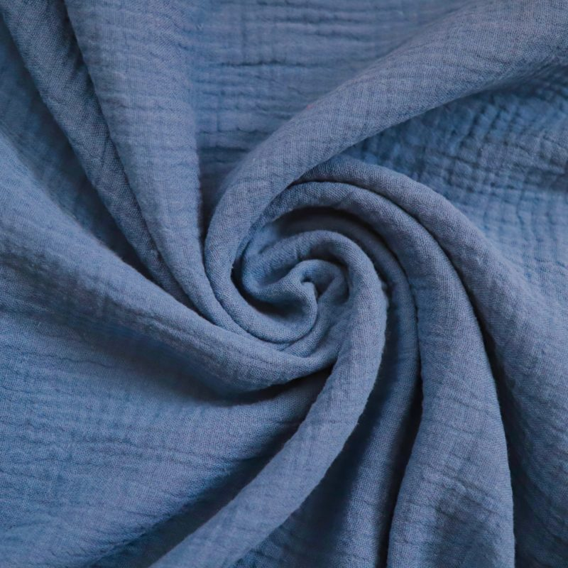 Denim Blue Cotton Fabric