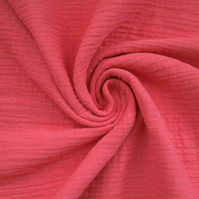 Coral Cotton Fabric