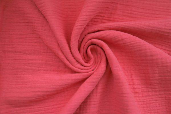 Coral Cotton Fabric