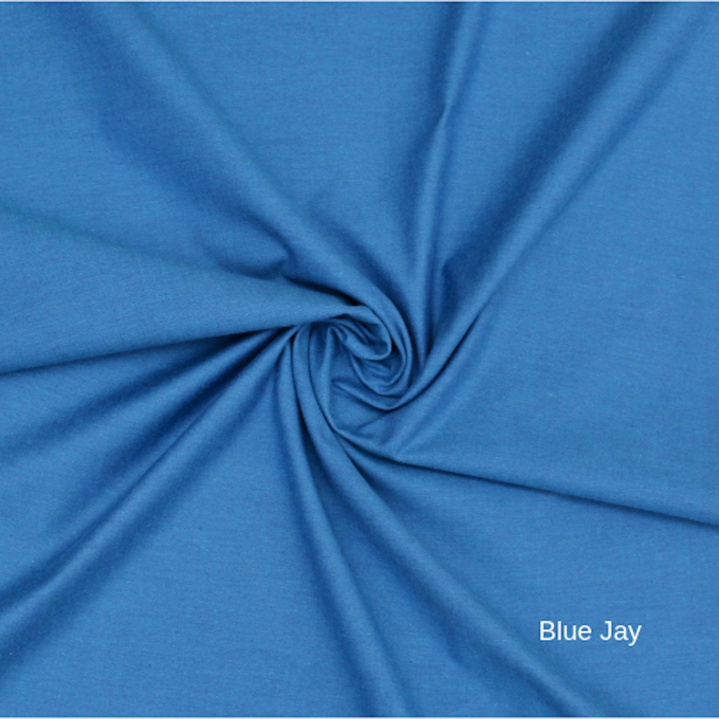 Blue Jay Peppered Cotton Fabric