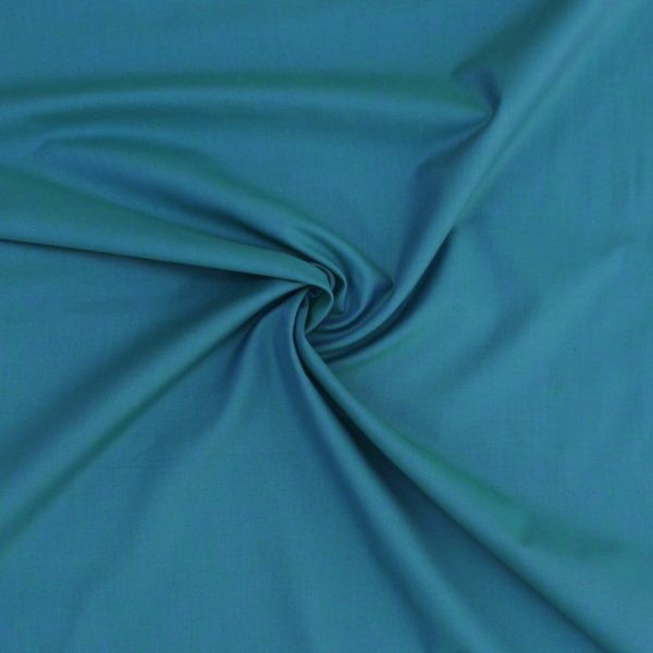 Marine Blue Peppered Cotton Fabric