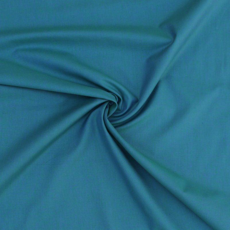 Marine Blue Peppered Cotton Fabric