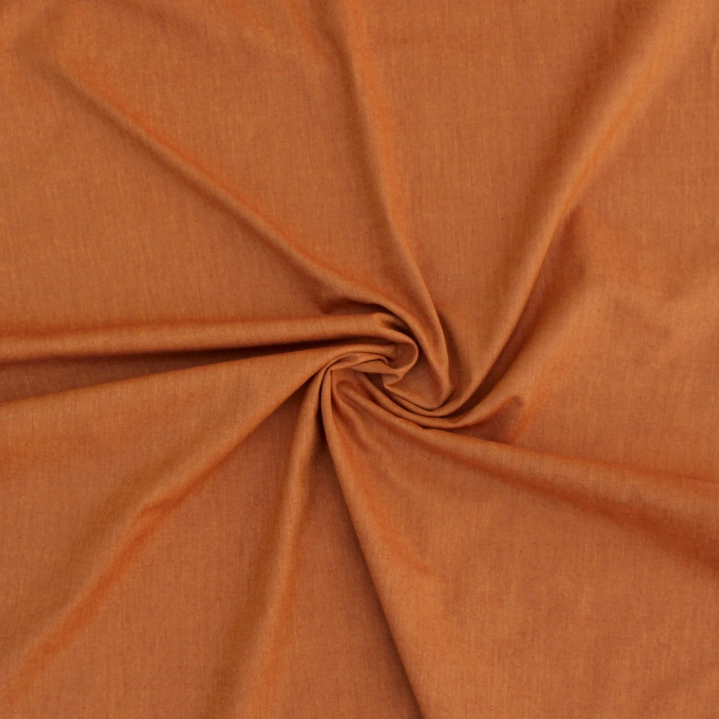 Rust Peppered Cotton Fabric